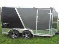 2015 Stealth 7x14 enclosed motorcycle trailer with