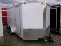 NEW TANDEM 7X14 TRAILER     FACTORY