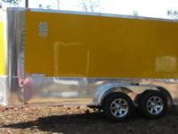 7x14 Tandem Axle Motorcycle Trailer, New 2015, Mag