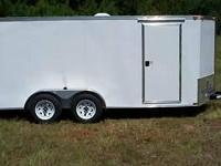 2015 South Georgia Cargo Enclosed Trailer 8.5 x 34