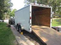 Very heavy duty with 5500 lbs axles Trailer is 2009