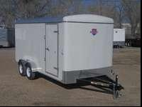 Come Check Out This New 7x16 Enclosed Trailer, With