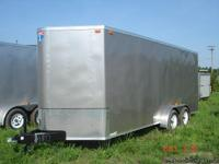 2013 Interstate cargo trailer 7x18 foot tandem
