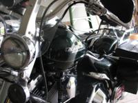 1997 FLHRI Harley Road King with only 4500 miles.