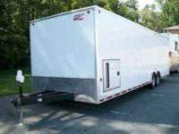 2007 28 Inclosed Trailer ------American Hauler ----Only