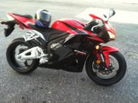 2011 Honda CBR 600RR bought this year. In perfect