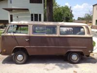 Selling my 1979 VW Bus. It's in good shape, with a