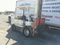 Dually newmatic, turn key, great older forklift, and