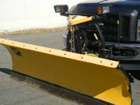 "8 1/2"" Fisher Plow ""Minute Mount"". Comes with"