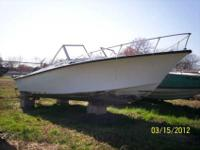 A good solid fishing boat. Has a 85 US marine engine (