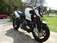 2008 KTM Superduke 990. It has only 4437 miles on it. I
