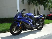 This is a beautiful 2009 Yamaha R6 with under 4k miles