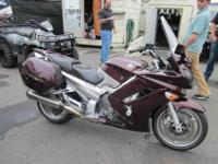 2007 YAMAHA FJR1300A, Black Cherry, supersport touring