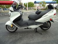 This is a pristine 2011 Burgman 650 Executive . this