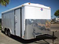 Pre-Owned 8.5' x 16' Load-Runner Enclosed Trailer