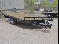 Brand New 8.5x20 Tandem Axle Deck Over Heavy Equipment