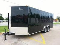 2014 NEW Black 81/2' x 20' Tandem 5200lb. Axles, Extra