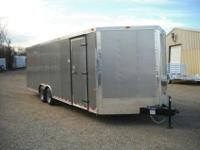 Features:24' In The Box Plus 3' V-NoseTandem 5200 lb