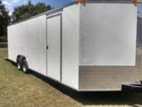 8.5 x 24 Enclosed Cargo Trailer 3500 lb Axles STANDARD