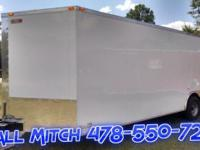 8.5 x 24 Enclosed Trailer (Economy Line) Standard
