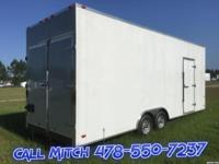 8.5 x 24 TA3 Enclosed Trailer (Plus Line) 2' Extra