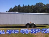 8.5 x 28 TA3 Enclosed Trailer w/Electrical Package Gold