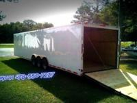 2016 Economy Line 8.5 x 34' TTA3 Enclosed Cargo
