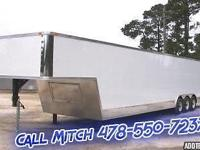 8.5 X 52 Gooseneck Trailer Standard Features: Cross