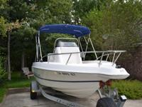 1996 Wellcraft 190CCF w/115hp Johnson 2 stroke. This