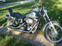 I have a 2000 Dyna Wide Glyde Harley Davidson for sale.