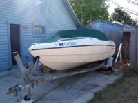 2002 STING RAY 18' BOW RIDER, COMES WITH STAINLESS