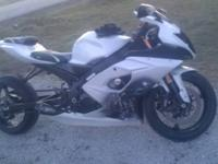 this is my stretched gsxr 1000 . it has an evil 1 piece