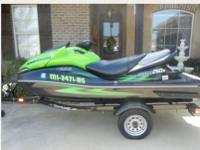 2009 Kawasaki Ultra 260x like new with only around 25