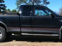 2003 BLACK ON GREY TRIM F150 FX4 WHEEL DRIVE EXTENDED