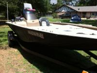 This Special Edition G3 HP 180 SE bass boat (made by