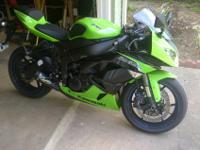 I'm selling 2012 Kawasaki Ninja ZX-6R with paid off