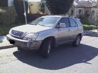 2001 Lexus RX300 Automatic 3.0 L V6.All wheel drive,