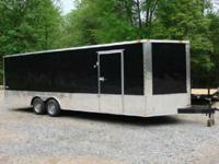 Brand New 2015 Model Freedom Brand Enclosed Car Hauler