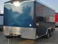 Haulmark Concession Trailer. 8.5ft x 16ft. Features
