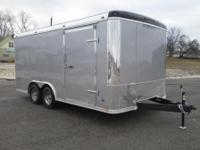 2015 8.5 x16 Stealth enclosed trailer with ramp door,