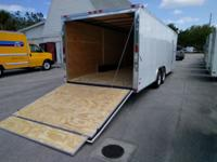 5200 lb tandem axles side door with rv latch and step