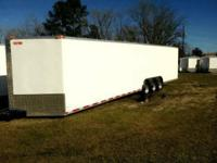 2015 Economy Line Enclosed Trailer 8.5 x 34 Please read