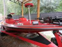 I am selling my 1992 20ft. Gambler Bass Boat which