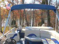 I am selling a 2005 pontoon, it is already set for the