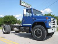 1989 International 1955 16? Cab and Chassis Truck,