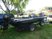 1996 Ranger Bass Boat in excellent condition115 hp