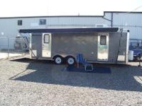This Hard To Find 2003 Toy Hauler Campmaster 24Ft