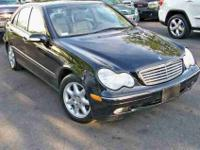 This 2003 Mercedes-Benz C-Class 4dr C320 4MATIC AWD