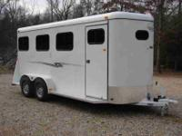 Brand New 3 Horse Slant Fully Enclosed Trailer, Made by