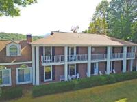 Brick plantation georgian colonial on 19.2 acres of